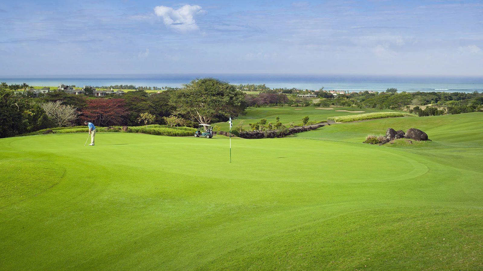 Heritage Golf Resort in Mauritius