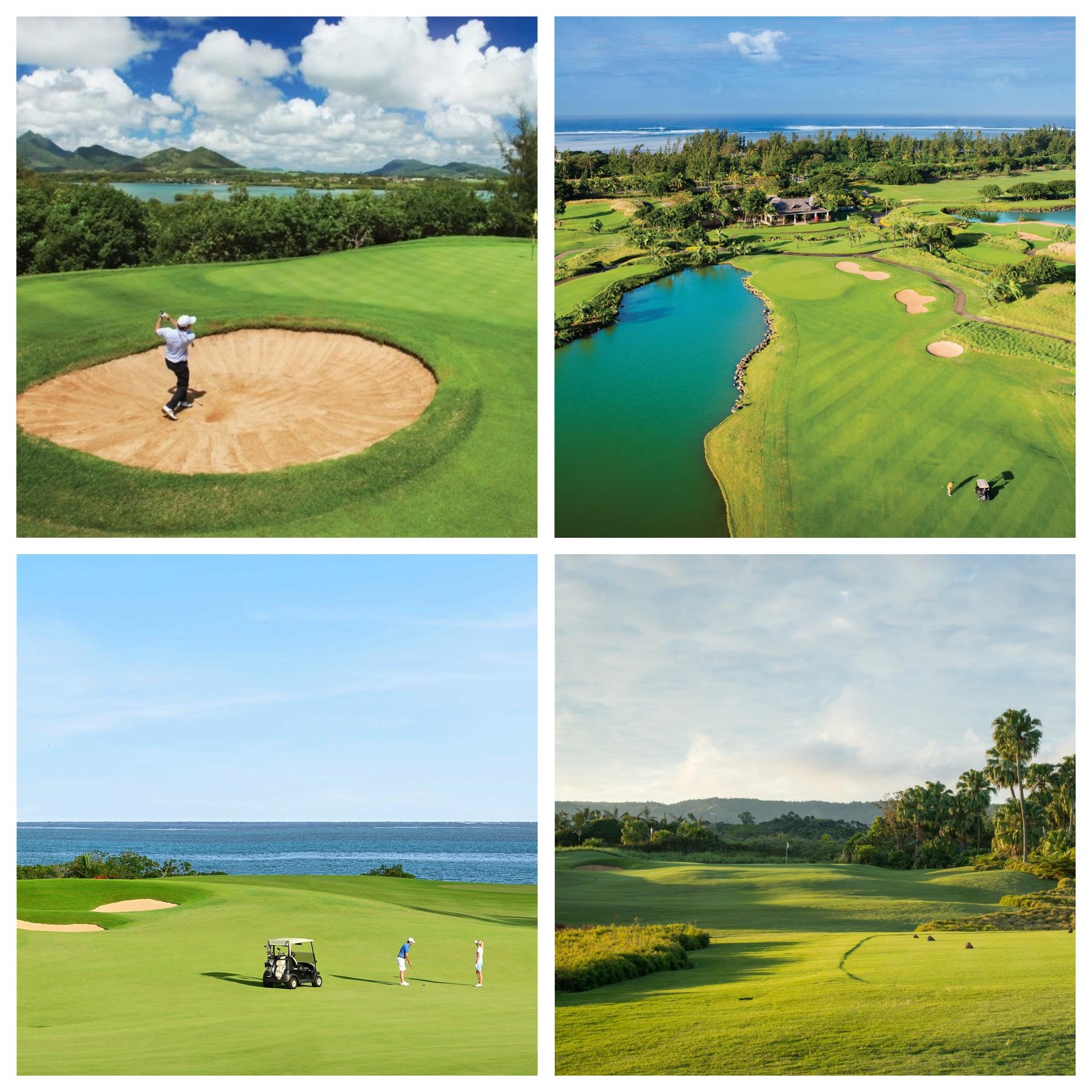 Ile aux Cerfs, Anahita, Heritage and Avalon Golf Clubs